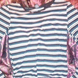 Rue 21 striped long sleeve top